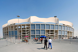 View of Dubai International Cricket Stadium in Dubai United Arab Emirates