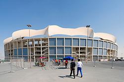 View of Dubai International Cricket Stadium in Dubai United Arab Emirates