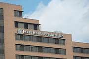 A general view of Texas Health Presbyterian Dallas where the first patient confirmed with Ebola is now being treated on October 2, 2014. (Cooper Neill for The New York Times)