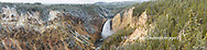67545-09108 Lower Falls in fall, Yellowstone National Park, WY