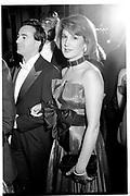 JACK DAVIDOFF; SYDNEY BIDDLE BARROWS, Mayflower Descendants Ball, Plaza Hotel, New York. Nov 3 1989,<br /> <br /> SUPPLIED FOR ONE-TIME USE ONLY> DO NOT ARCHIVE. © Copyright Photograph by Dafydd Jones 248 Clapham Rd.  London SW90PZ Tel 020 7820 0771 www.dafjones.com