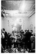 Rosemary Kitchen, Anthony Prins Lady Rathcavan. Sligo Harriers Ball, Makree Castle. Ireland 30/12/87© Copyright Photograph by Dafydd Jones 66 Stockwell Park Rd. London SW9 0DA Tel 020 7733 0108 www.dafjones.com