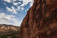 Lizard petroglyph, six-foot long, Dinosaur National Monument, Utah