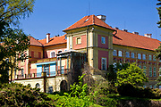 Łańcut, 2009-04-25. Zamek Lubomirskich i Potockich w Łańcucie