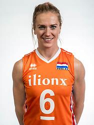 22-05-2017 NED: Nederlands volleybalteam vrouwen, Utrecht<br /> Photoshoot met Oranje vrouwen seizoen 2017 / Maret Balkestein-Grothues #6