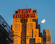 The New Yorker (Wyndham Hotel) is in Manhattan, New York City.