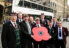 Poppy Scotland bus | Edinburgh | 27 October 2016