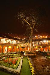 Hotel Monestario Del Cuzco At Night