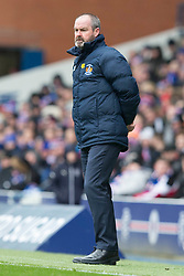 Kilmarnock manager Steve Clarke during the Ladbrokes Scottish Premiership match at Ibrox Stadium, Glasgow.