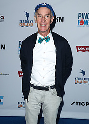 LOS ANGELES, CA, USA - AUGUST 23: 6th Annual PingPong4Purpose held at Dodger Stadium on August 23, 2018 in Los Angeles, California, United States. 23 Aug 2018 Pictured: Bill Nye. Photo credit: Xavier Collin/Image Press Agency / MEGA TheMegaAgency.com +1 888 505 6342