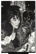 GHISLAINE MAXWELL,DYNASTY BALL, Cafe Royal. 1986