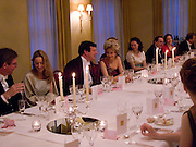 GUESTS AT VISCOUNT DUPPLIN'S DINNER, The Royal Caledonian Ball 2008. In aid of the Royal Caledonian Ball Trust. Grosvenor House. London. 2 May 2008.  *** Local Caption *** -DO NOT ARCHIVE-© Copyright Photograph by Dafydd Jones. 248 Clapham Rd. London SW9 0PZ. Tel 0207 820 0771. www.dafjones.com.