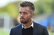 Former aston Villa and England player , now Sky Sports pundit Lee Hendrie during the EFL Sky Bet League 1 match between Oxford United and Coventry City at the Kassam Stadium, Oxford, England on 9 September 2018.