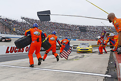 May 6, 2018 - Dover, Delaware, United States of America - Ricky Stenhouse, Jr (17) brings his car down pit road for service during the AAA 400 Drive for Autism at Dover International Speedway in Dover, Delaware. (Credit Image: © Chris Owens Asp Inc/ASP via ZUMA Wire)