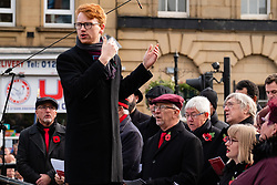 Remembrance Sunday Barnsley Choir<br /> <br />  Copyright Paul David Drabble<br />  10 November 2019<br />  www.pauldaviddrabble.co.uk