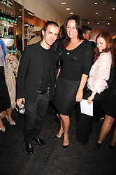 KINDER AGGUGINI and TRISH SIMONON at the Natural Beauty Honours 2008 hosted by Neal's Yard Remedies, 124b King's Road, London SW3 on 4th September 2008.<br /> <br /> NON EXCLUSIVE - WORLD RIGHTS