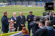 BBC Football Focus during the The FA Cup 5th round match between AFC Wimbledon and Millwall at the Cherry Red Records Stadium, Kingston, England on 16 February 2019.