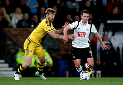 Craig Bryson of Derby County goes past Tim Ream of Fulham - Mandatory by-line: Robbie Stephenson/JMP - 04/04/2017 - FOOTBALL - Pride Park Stadium - Derby, England - Derby County v Fulham - Sky Bet Championship