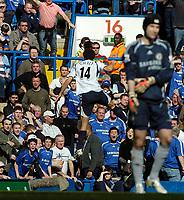 Photo: Ed Godden/Sportsbeat Images.<br /> Chelsea v Tottenham Hotspur. The FA Cup. 11/03/2007.<br /> Spurs's Hossam Ghaly celebrates after scoring.