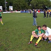SV Huizen - Dovo 0-1, blijdschap, teleurstelling