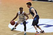 Basketball: Deutschland, 1. Bundesliga, Hamburg Towers -  Alba Berlin, Hamburg, 23.03.2021<br /> TJ Shorts (Towers, l.)<br /> © Torsten Helmke