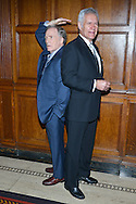 Dick Cavett, Alex Trebek attend the Library of American Broadcasting To Present 11th Annual Giants of Broadcasting Honors at the Gotham Hall on October 16, 2013 in New York City.