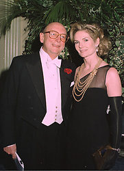 MR CHRISTOPHER & LADY MARY-GAYE SHAW at a party in London on 27th January 1998.MEW 7