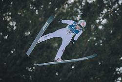 15.02.2020, Kulm, Bad Mitterndorf, AUT, FIS Ski Flug Weltcup, Kulm, Herren, im Bild Robert Johansson (NOR) // Robert Johansson of Norway during his Jump for the men's FIS Ski Flying World Cup at the Kulm in Bad Mitterndorf, Austria on 2020/02/15. EXPA Pictures © 2020, PhotoCredit: EXPA/ Dominik Angerer