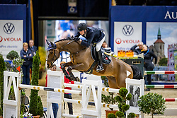 NIEBERG Gerrit (GER), Chilly 15<br /> VEOLIA Championat<br /> Int. jumping competition with 1 jump-off (1.50 m) - CSI3*<br /> Comp. counts for the LONGINES Rankings<br /> Braunschweig - Classico 2020<br /> 07. März 2020<br /> © www.sportfotos-lafrentz.de/Stefan Lafrentz