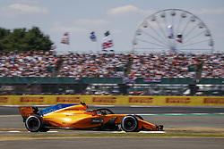 July 8, 2018 - Silverstone, Great Britain - Motorsports: FIA Formula One World Championship 2018, Grand Prix of Great Britain, .#2 Stoffel Vandoorne (BEL, McLaren F1 Team) (Credit Image: © Hoch Zwei via ZUMA Wire)