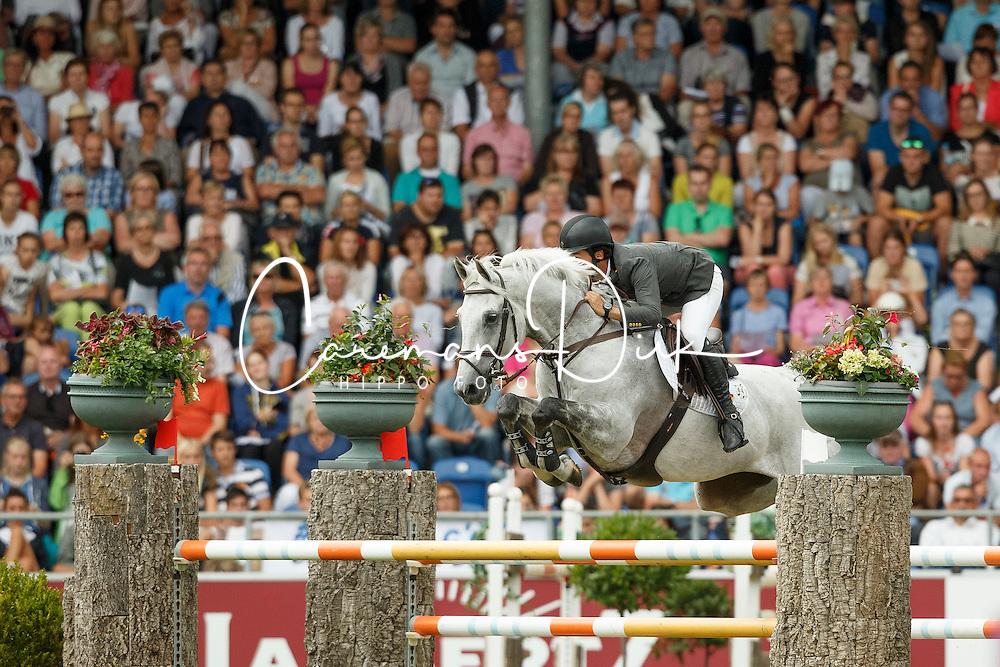 Alvarez Moya Sergio, (ESP), Carlo 273<br /> Individual Final Competition<br /> FEI European Championships - Aachen 2015<br /> © Hippo Foto - Dirk Caremans<br /> 23/08/15
