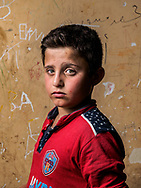 Rabar, age 9, Syria (Kurdish).