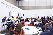 Jumoke Oduwole, Senior Lecturer<br /> University of Lagos, Joshua Setipa, Minister of Trade and Industry<br /> Ministry of Trade and Industry of Lesotho, Klaus Tilmes, Director, Trade and Competitiveness Global Practice<br /> World Bank, Grace Ihejiamaizu, Founder and Executive Director<br /> iKapture Center for Development ,Anne Githuku-Shongwe, Founder<br /> Afroes Transformational Games, Georges Desvaux, Managing Partner, Africa<br /> McKinsey & Company, South Africa, Olusola David-Borha, Chief Executive, Africa<br /> Standard Bank Group   at the World Economic Forum on Africa 2017 in Durban, South Africa. Copyright by World Economic Forum / Greg Beadle