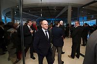 DEU, Deutschland, Germany, Berlin, 16.12.2014: Michael Hartmann (MdB, SPD) auf dem Weg zur Fraktionssitzung der SPD im Deutschen Bundestag.