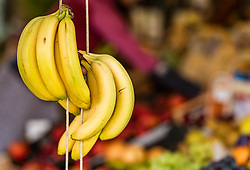 THEMENBILD - Bananen bei einem Markt, aufgenommen am 28. Juni 2018 in Fazana, Kroatien // bananas at a Market, Fazana, Croatia on 2018/06/28. EXPA Pictures © 2018, PhotoCredit: EXPA/ JFK