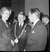 Bushmills Whiskey reception at the Hibernian Hotel..14.04.1961
