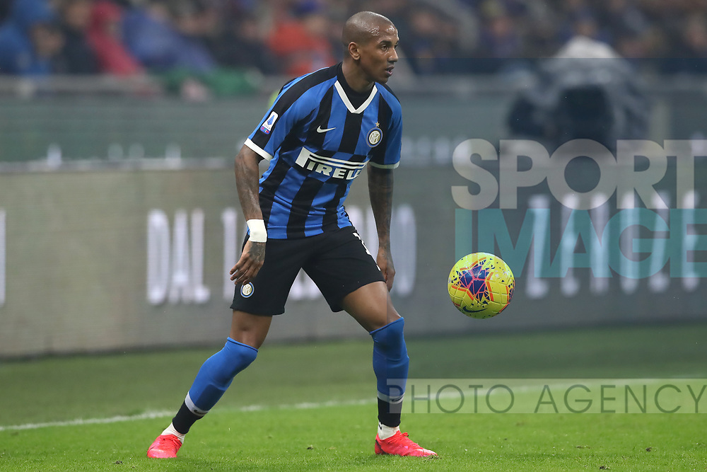 Ashley Young of Inter during the Serie A match at Giuseppe Meazza, Milan. Picture date: 9th February 2020. Picture credit should read: Jonathan Moscrop/Sportimage