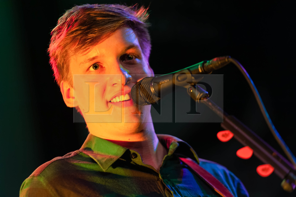 © Licensed to London News Pictures. 05/04/2014. Rotterdam, Netherlands.   George Ezra performing live at Motel Mozaique Festival.  George Ezra is a british singer-songwriter who was nominated in the BBC Sound of 2014 finishing fifth.  Motel Mozaïque is an annual music/arts festival, held annually in Rotterdam, Netherlands.  Photo credit : Richard Isaac/LNP