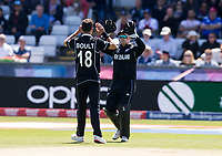 Cricket - 2019 ICC Cricket World Cup - Group Stage: England vs. NZ<br /> <br /> Tom Latham of New Zealand catches from Trent Boult of New Zealand to put out Joe Root of England, at the Riverside, Chester-le-Street, Durham.<br /> <br /> COLORSPORT/BRUCE WHITE