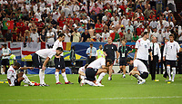 Photo: Chris Ratcliffe.<br /> England v Portugal. Quarter Finals, FIFA World Cup 2006. 01/07/2006.<br /> England team gutted at the end.