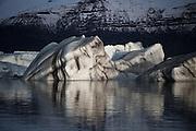Iceberg in Jökulsárlón (Glacier Lagoon), south Iceland