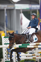 Wiering Harrie (NED) - Emil<br /> Final 5 years<br /> FEI World Breeding Jumping Championships for Young Horses - Lanaken 2014<br /> © Dirk Caremans