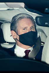 © Licensed to London News Pictures. 01/12/2020. London, UK. Labour Party leader Sir Keir Starmer arrives at The Houses of Parliament . Later today MPs will vote on new Coronavirus restrictions. Photo credit: George Cracknell Wright/LNP