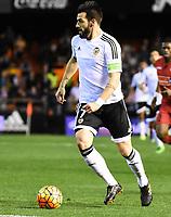 Valencia's    Alvaro Negredo   during La Liga match. February 13, 2016. (ALTERPHOTOS/Javier Comos)