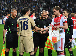 02.11.2011, Amsterdam Arena. Amsterdam, NED, UEFA Champions League, Vorrunde, Ajax Amsterdam (NED) vs Dinamo Zagreb (CRO), im Bild Milan Badelj// during Ajax Amsterdam (NED) vs Dinamo Zagreb (CRO), at Amsterdam Arena, Amsterdam, NED, 2011-11-02. EXPA Pictures © 2011, PhotoCredit: EXPA/ nph/ Marko Lukunic       ****** out of GER / CRO  / BEL ******