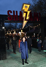 Shazam Supercharged Funfair Launch - 22 March 2019