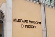 Mercado Municipal D. Pedro V / Dom Pedro V Municipal Market, Coimbra, Portugal