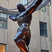 Atlas and the World at Rockefeller Center