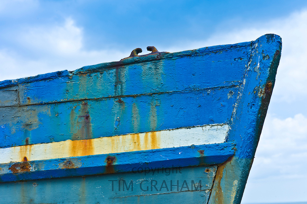 Fishing boat at Slade Harbour, County Wexford, Southern Ireland