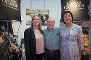 NO FEE PICTURES<br /> 25/1/19 Kansas and Oklahoma Travel pictured at the Holiday World Show 2019 at the RDS Simmonscourt in Dublin. Picture; Arthur Carron